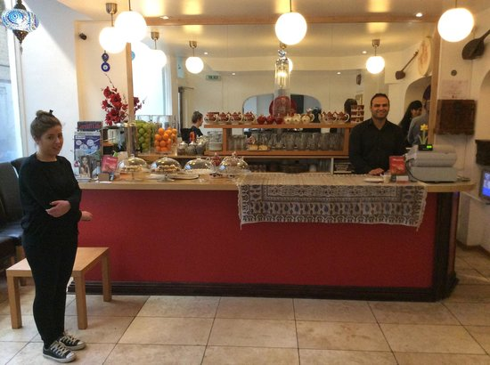 Mowlana Persian Restaurant: Entrance