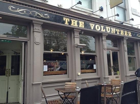The Volunteer: eat here!