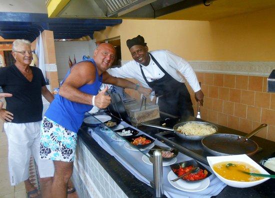 Hotel Tuxpan Varadero: porta un po di cucina italiana