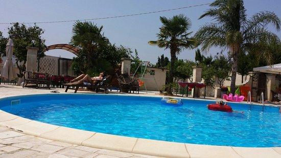 San Pietro Vernotico, איטליה: La piscina estiva