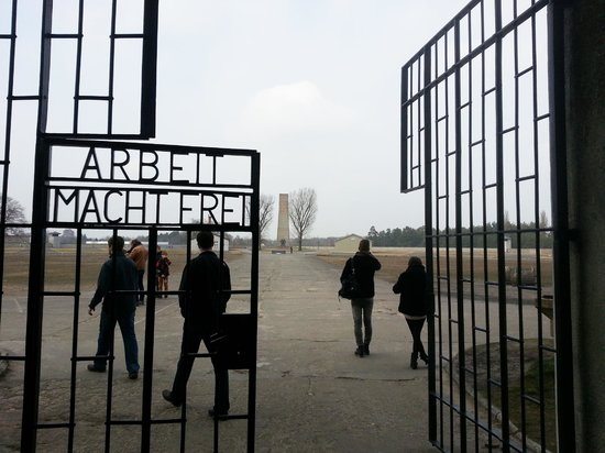 Original Berlin Walks: Entrance to Sachsenhausen concentration camp