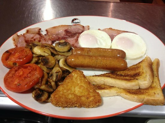 Poppins portswood: Only one of our big range of breakfast menu