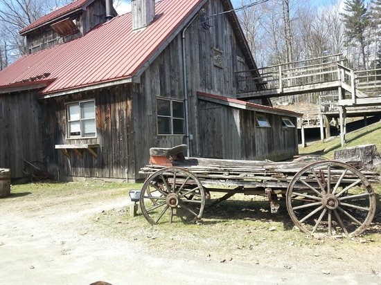 Maple Sugar & Vermont Spice: The resturant itself!