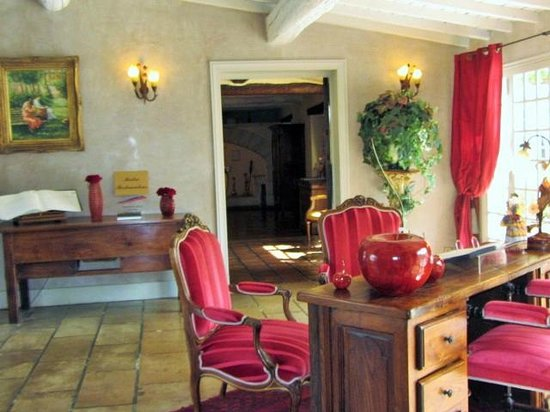 Auberge de Cassagne & Spa: reception