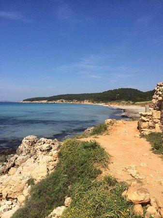 Playa De Binigaus : Superbe plage, grande et accessible facilement !