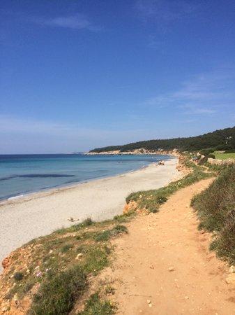 Playa De Binigaus : Très belle plage!