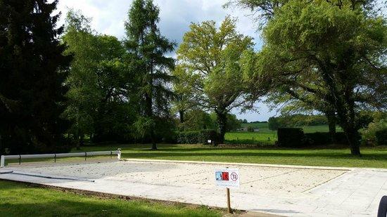 Hotel Chateau le Sallay: piscine