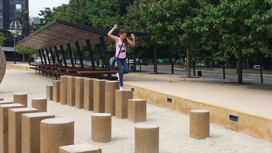 Planetario de Medellin: Parque cercano al planetario