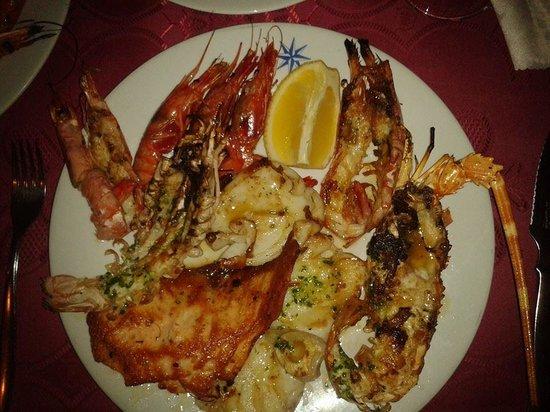Restaurante Xaloc: Mixed Seafood Platter