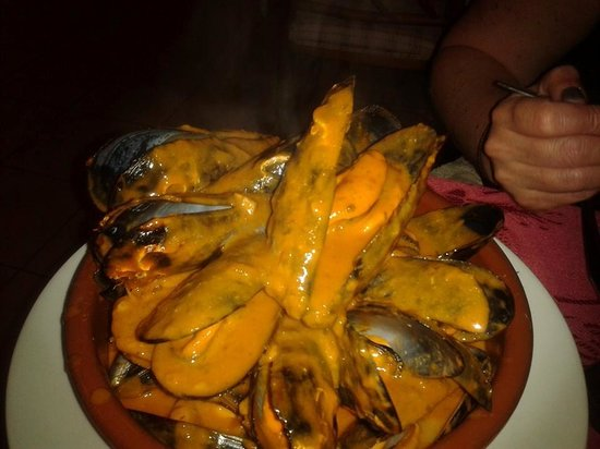 Restaurante Xaloc: Mussels