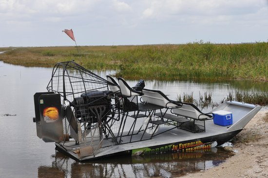 Fort Lauderdale Airboat Adventure: Our airboat...