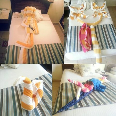 Coral Beach Resort: Towel Art