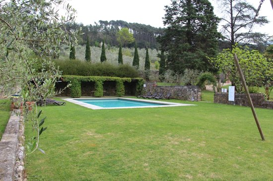 Albergo Villa Marta: Pool area