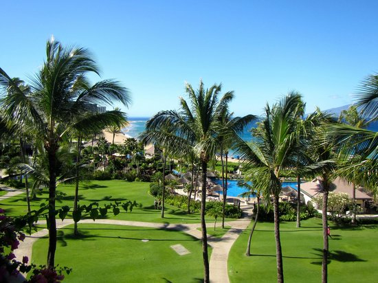 Sheraton Maui Resort & Spa: View from our Oceanfront room