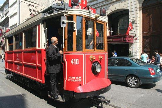 Beyoglu : tram 17