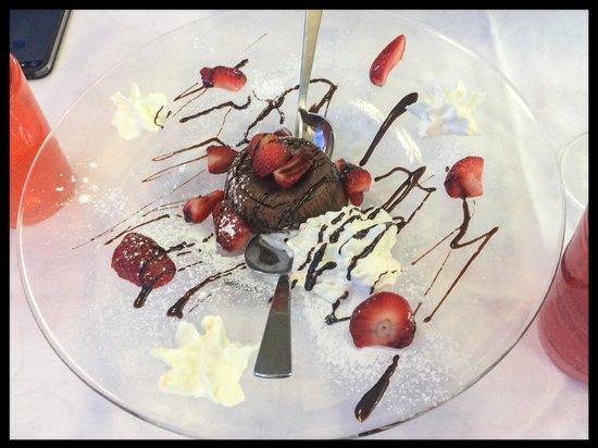 Croce Del Sud : Tortino al cioccolato... TOP!