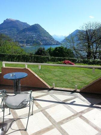Villa Principe Leopoldo: Vista desde la habitacion