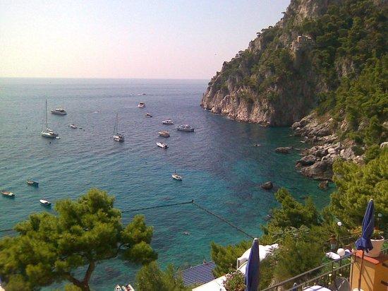 Hotel Weber Ambassador Capri : вид вправо