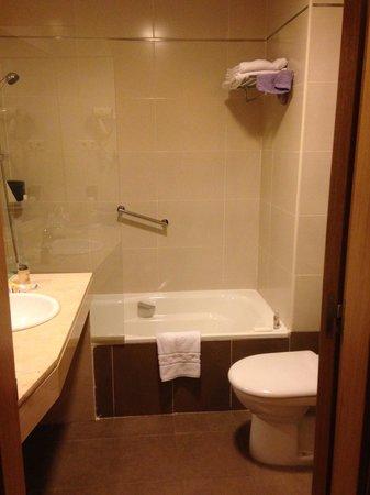 Hotel Ganivet: Double room bathroom!