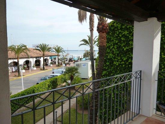Botel Alcudiamar Hotel: Blick vom Zimmer (Suite)
