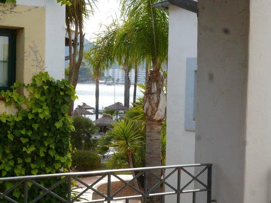 Botel Alcudiamar Hotel: Zimmer (Suite)- ein bischen Meer ist zu sehen