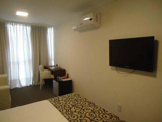 Palm Beach Plaza Hotel: Meu quarto