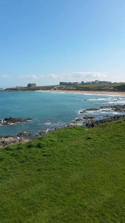 The Esplanade Hotel: View from Room 213 over Fistral Beach