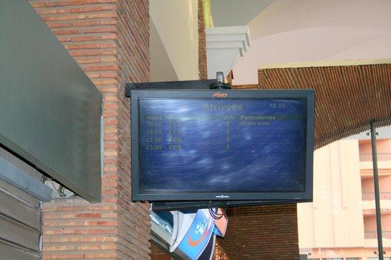 Station Marrakesh : Treni ... in ritardo