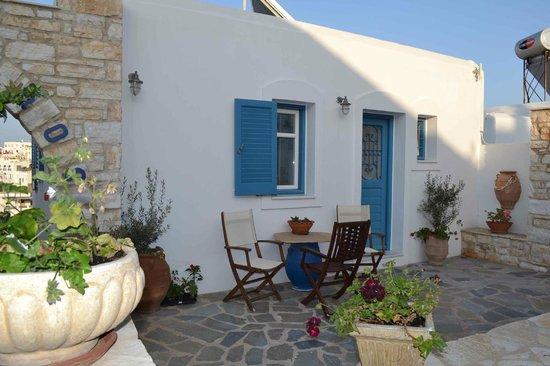 Alexandros Studio Apartments : unser Apartment (für bis zu 6 Personen)