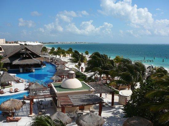 Excellence Riviera Cancun: Vue de la chambre