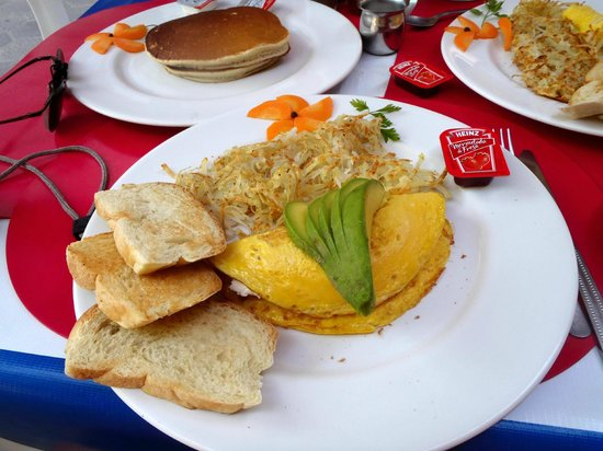 Zihua Pancake House: Delicious omelet!