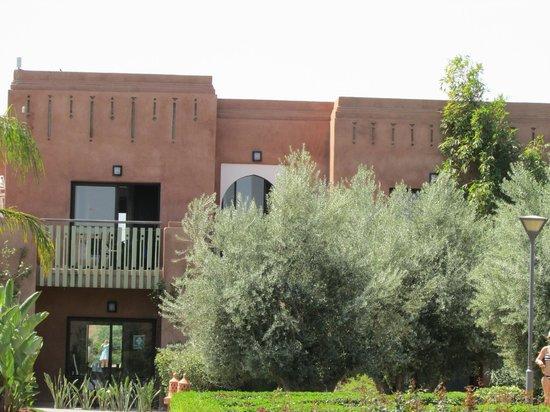 Kenzi Club Agdal Medina: balcon des chambres