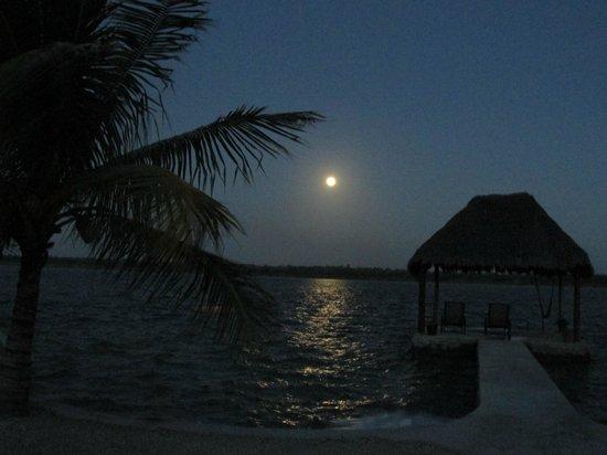 Bacalar Lagoon Resort: pleine lune