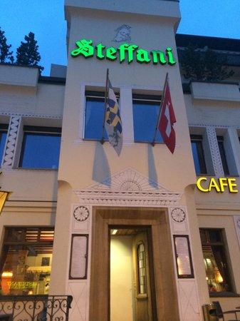 Steffani Restaurant: Esterno