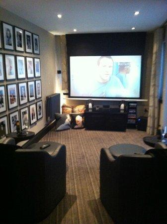 The Chester Residence: Cinema Room