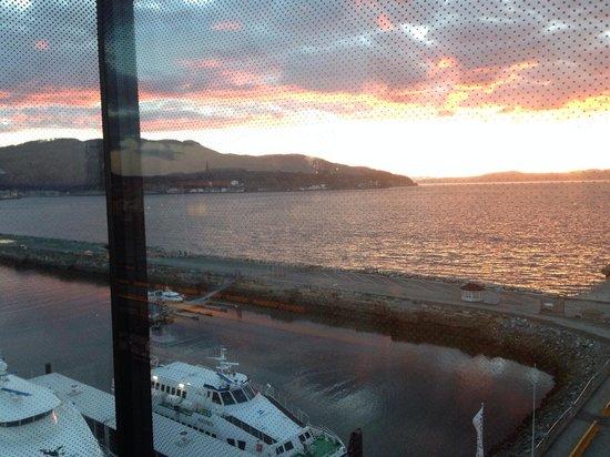 Clarion Hotel & Congress Trondheim: vista desde la hab. 701