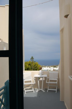 Evgenia Villas & Suites: Room with a view! Whatta view!