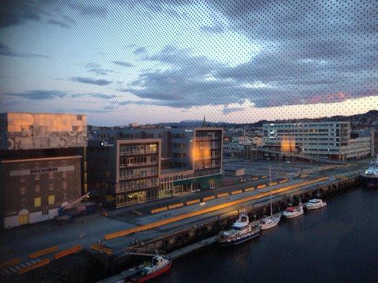 Clarion Hotel & Congress Trondheim : vista desde la hab. 701