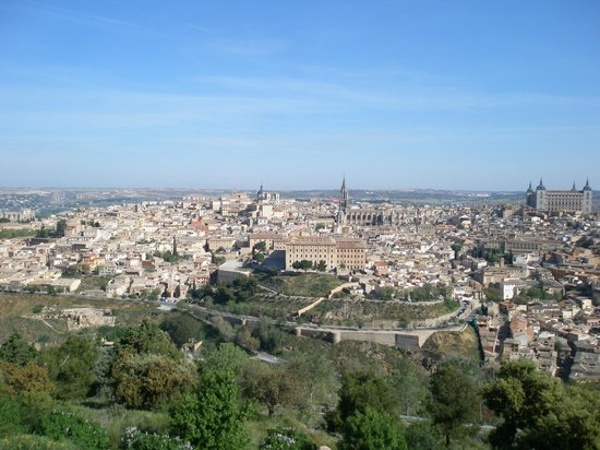 Parador de Toledo: View from the balcony of room 419