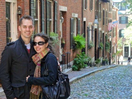 Boston Citywalks: Tour ends near Beacon Hill - a very posh area of Boston