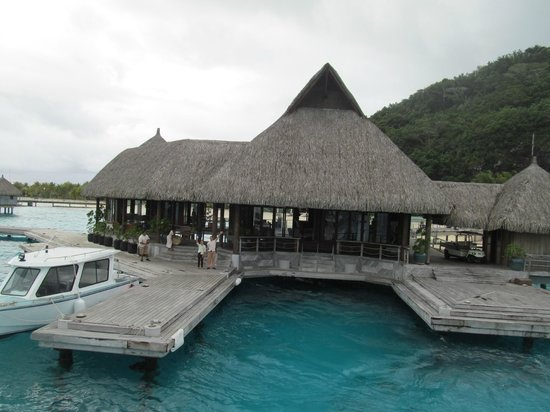 Conrad Bora Bora Nui : Reception Area