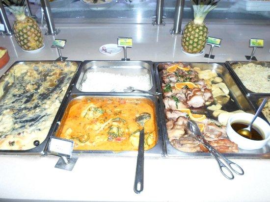 Sabor Mineiro: Una parte del buffet