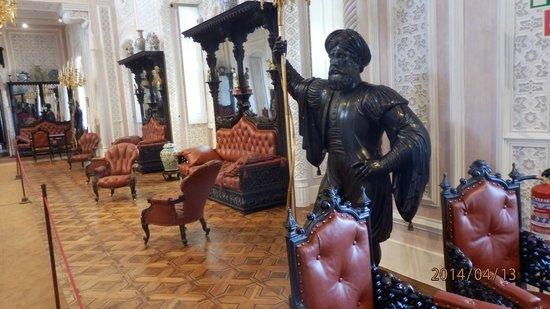 Palacio Nacional de Sintra: Uno de los salones del Palacio do Pena, Sintra