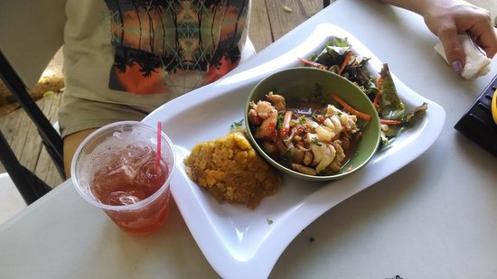 El Anzuelo Grill and Cantina: Langosta al ajillo
