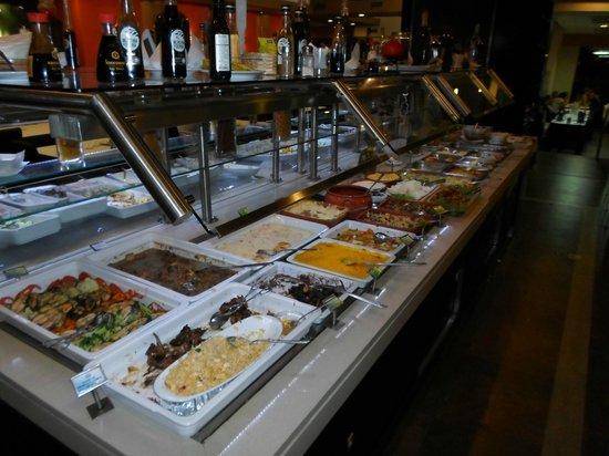 Sabor Mineiro: Un'altra parte del buffet