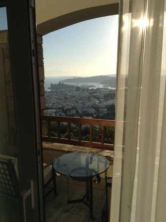 The Marmara, Bodrum : Вид из номера