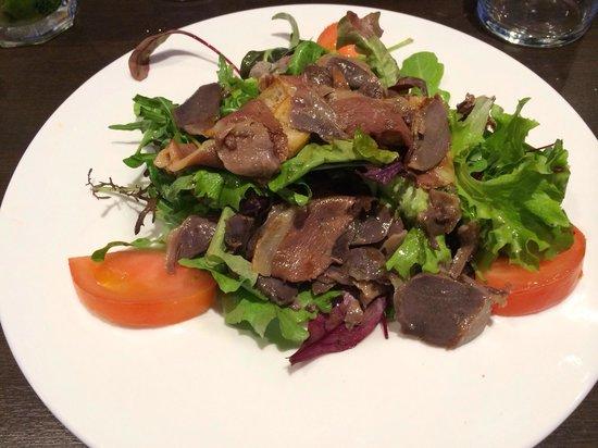 Les Tamaris : Salade landaise excellente!