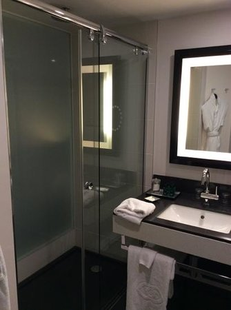 Sofitel Brussels Europe : Queen superior room bathroom