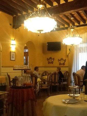 Hotel Palazzo Alexander: the breakfast room