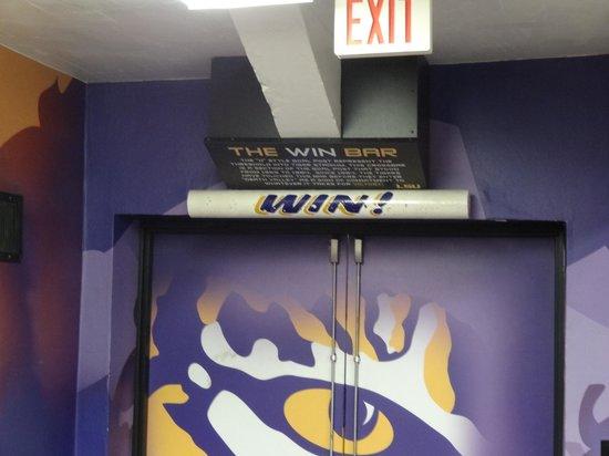 LSU Tiger Stadium: The Win Bar